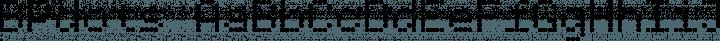 BPdots font family by Backpacker