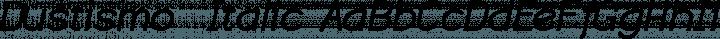 Dustismo  Italic free font