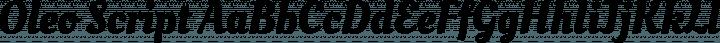Oleo Script font family by soytutype fonts