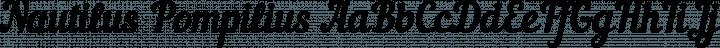 Nautilus Pompilius Regular free font