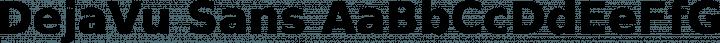 DejaVu Sans font family by DejaVu Fonts