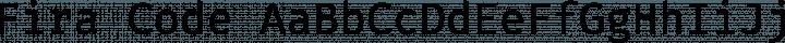 Fira Code Regular free font