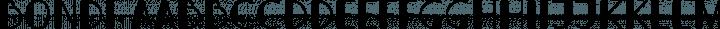 Bondi Regular free font