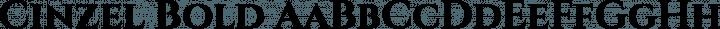 Cinzel Bold free font
