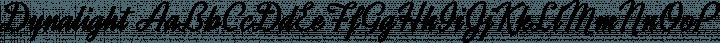 Dynalight Regular free font