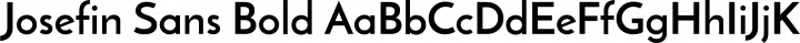 Josefin Sans Bold free font