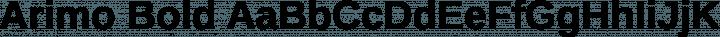 Arimo Bold free font