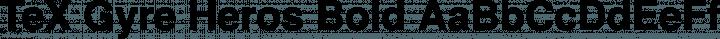TeX Gyre Heros Bold free font