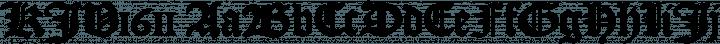 KJV1611 Regular free font