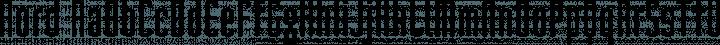 Nord Regular free font