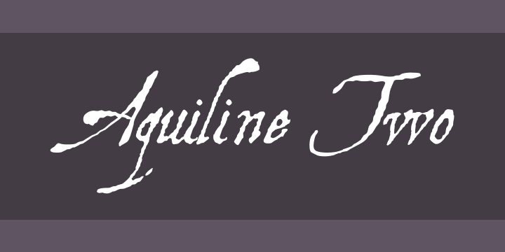 fonte aquiline two