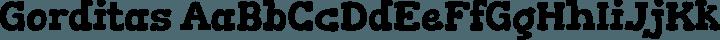 Gorditas Regular free font