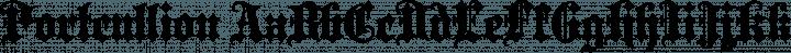 Portcullion font family by Paul Lloyd