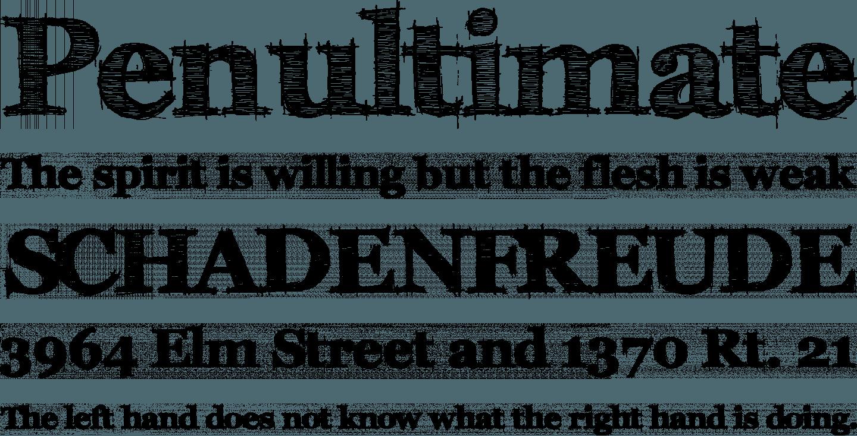 fff tusj bold font free download