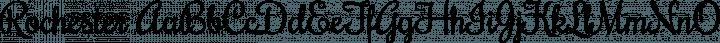 Rochester Regular free font