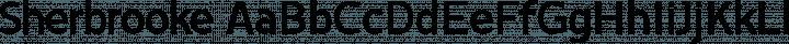 Sherbrooke Regular free font