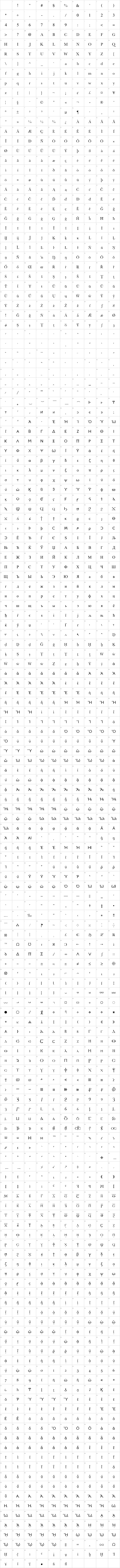 New Athena Unicode Font Free by American Philological Association