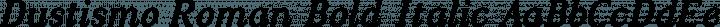 Dustismo Roman Bold Italic free font