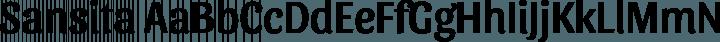 Sansita font family by Omnibus Type