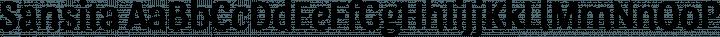 Sansita Regular free font