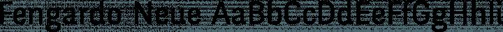 Fengardo Neue font family by Akalollip