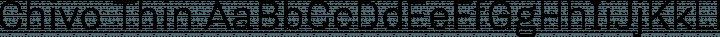 Chivo Thin free font