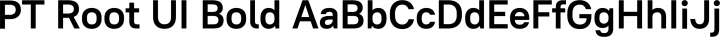 PT Root UI Bold free font