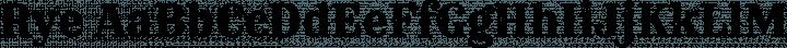 Rye Regular free font