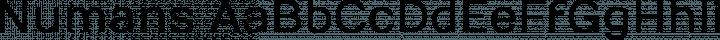 Numans font family by Jovanny Lemonad