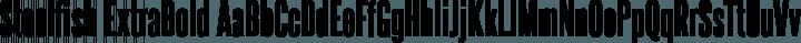 Steelfish ExtraBold free font
