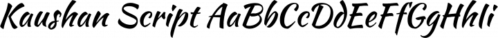 Kaushan Script font family by Impallari Type