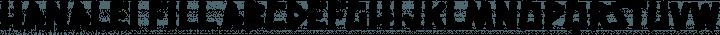 Hanalei Fill free font