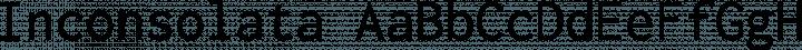 Inconsolata font family by Raph Levien