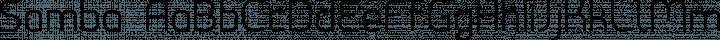 Samba Regular free font