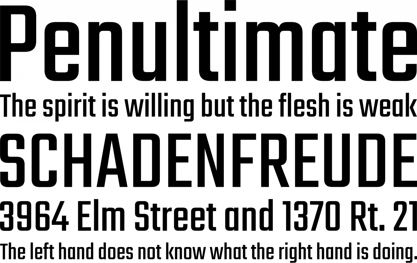 Teko Font Free by Indian Type Foundry » Font Squirrel
