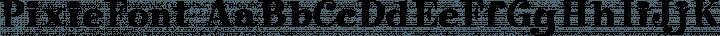 PixieFont Regular free font