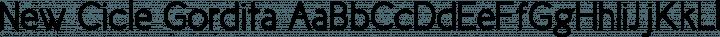 New Cicle Gordita free font