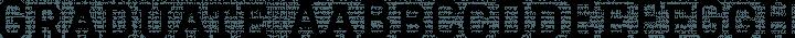 Graduate font family by Eduardo Tunni