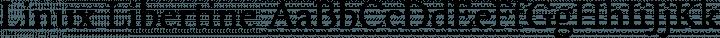 Linux Libertine Regular free font