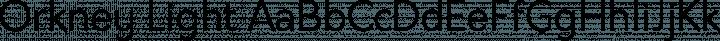 Orkney Light free font