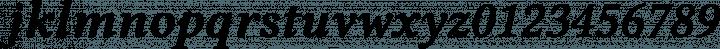 Libertinus Serif Semibold Italic free font