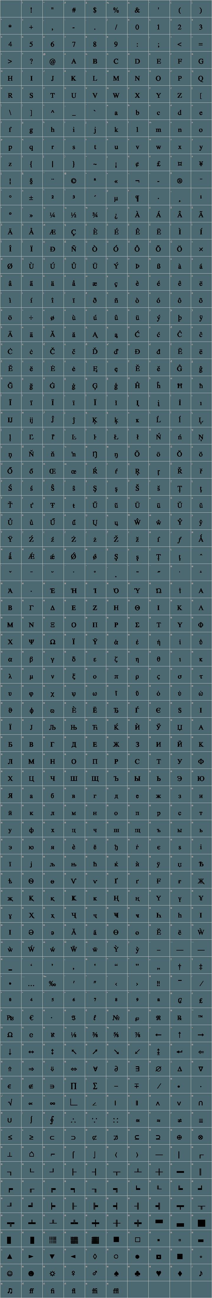 Nimbus Roman No9 L Font Free by URW++ » Font Squirrel
