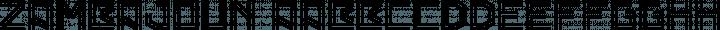 Zambajoun Regular free font
