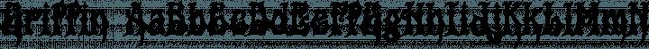 Griffin Regular free font