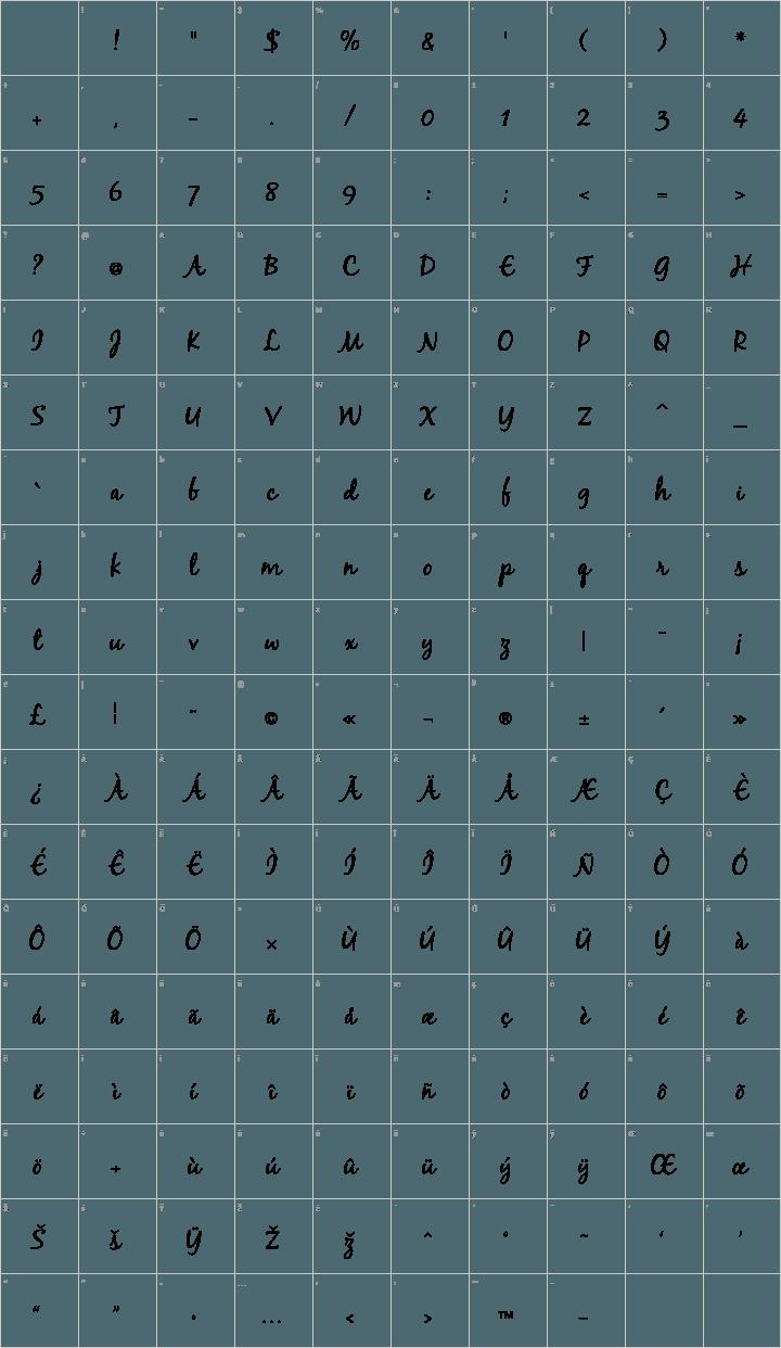 Free Blackjack Font