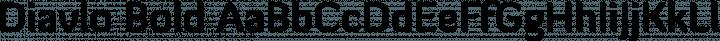 Diavlo Bold free font