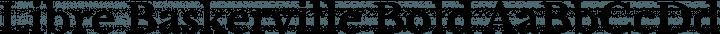 Libre Baskerville Bold free font