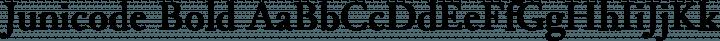 Junicode Bold free font