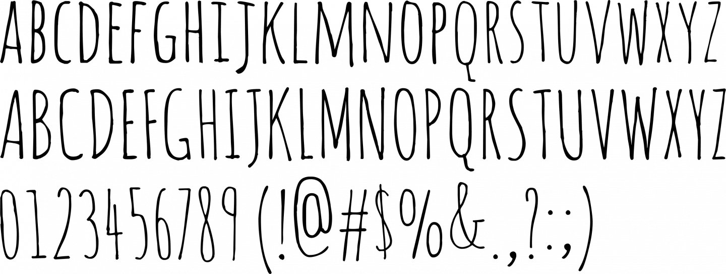 Amatic Font Free by Vernon Adams » Font Squirrel