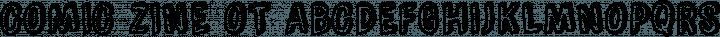 Comic Zine OT Regular free font